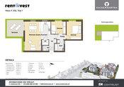 """""""Kaisergarten"""" Haus F, Erdgeschoss, Top 1"""