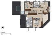 """Panorama Lounge"", Haus Verde, Maisonette DG, Top 3"