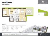 """""""Kaisergarten"""" Haus F, Erdgeschoss, Top 2"""